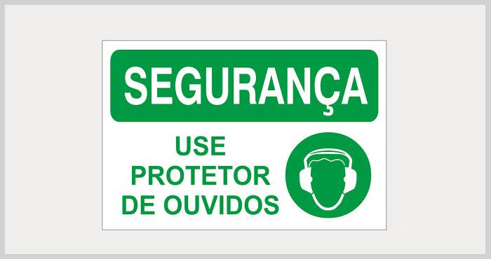 Placas de segurança