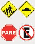 Sinalização de trânsito